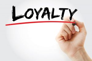Loyalty handwritten