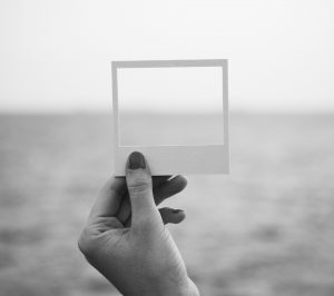 Looking through small picture frame